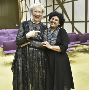 Helen Brunner and Rama Chobbe
