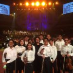 Pune Suzuki School students at Royal Albert Hall